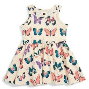 new TEA COLLECTION Butterfly Dress 18-24m cotton